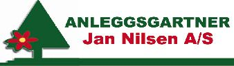Anleggsgartner Jan Nilsen AS - Logo